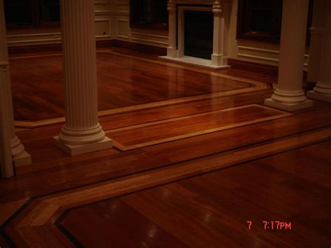 Hardwood Floor Borders Ideas Home Improvements Hardwood Flooring Decorative Designs And Borders