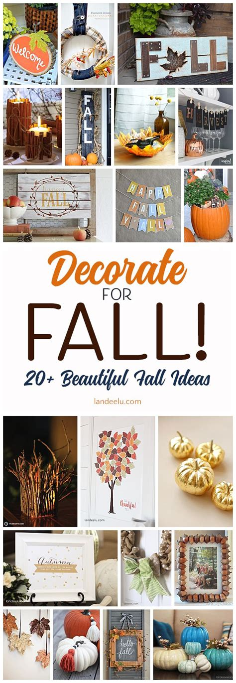best diy crafts ideas 20 beautiful fall decorations
