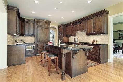 traditional kitchen decoration with granite top kitchen traditional kitchen bistre cabinets with granite counter