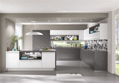 Contemporary Kitchen Island - i home kitchens nobilia kitchens amp german kitchens nobilia touch 334 slate grey supermatt