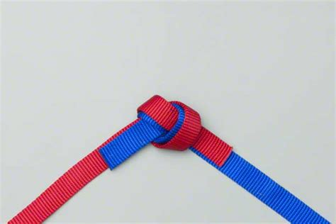 water knot how to tie the water knot rescue knots how to tie an overhand knot ehow