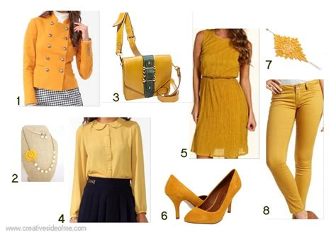 mustard color why not creative side of me