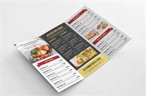 food menu template v106 brochure templates on creative