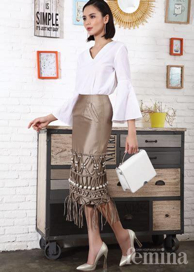 Celana Kulot Rumbai tilan modern gaya dengan fringe