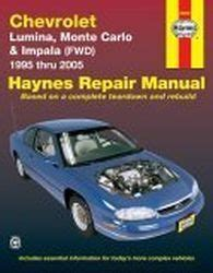 auto manual repair 2003 chevrolet monte carlo user handbook 1995 2005 chevrolet lumina monte carlo 2000 2003 impala fwd haynes repair manual
