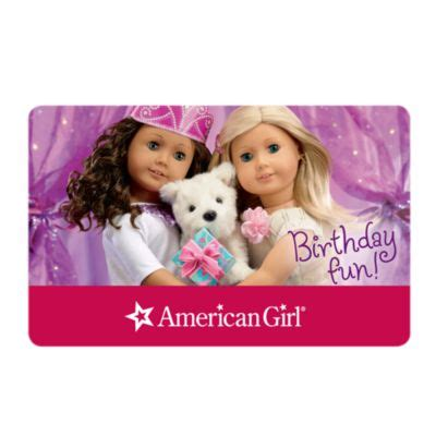 American Girl Gift Card - celebration gift card set american girl