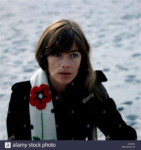 francoise hardy german portrait french singer fran 231 oise hardy stock photos
