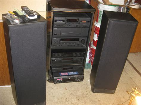 Home Shelf Stereo Systems by Kenwood Stereo System Ebay