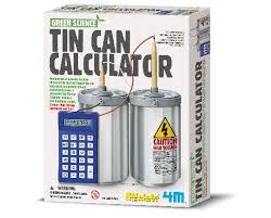 build your own home calculator make your own tin can calculator kit toys and games