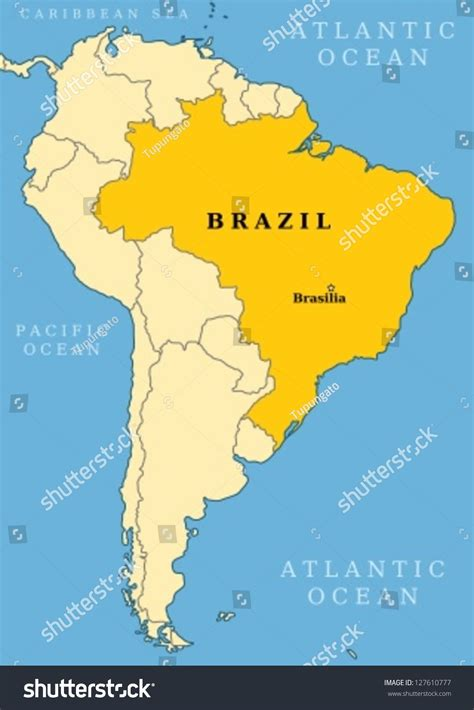 south american map of brazil south america roundtripticket me