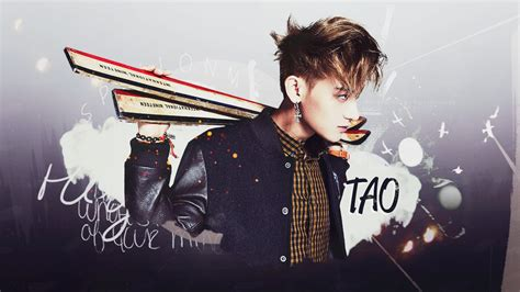 wallpaper d o exo hd wallpaper 44 tao exo m by feergmz on deviantart