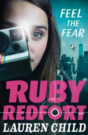 Book Review The About Ruby By Alsion Bond by Ruby Redfort 4 Feel The Fear Scholastic Club