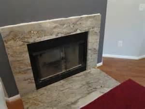 granite on your fireplace