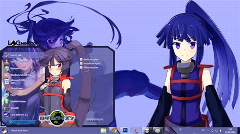 download theme windows 7 log horizon akatsuki log horizon theme windows 7 anime theme windows