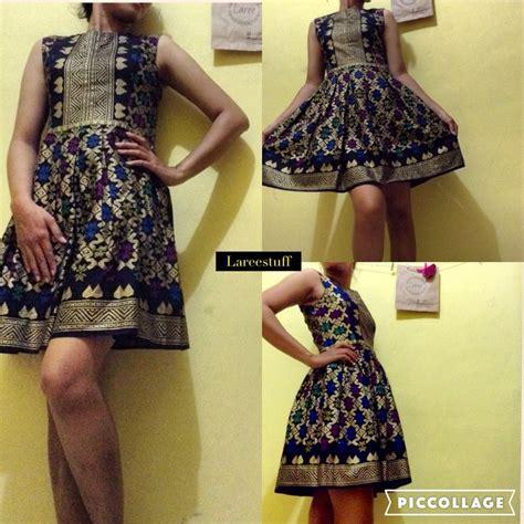 desain dress kain tenun dress custom kain tenun prada bali laree custom