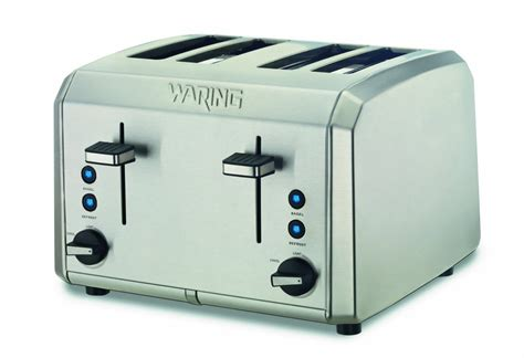 Toaster Reviews Waring Wt400 Review Best Professional 4 Slot Toaster In 2017