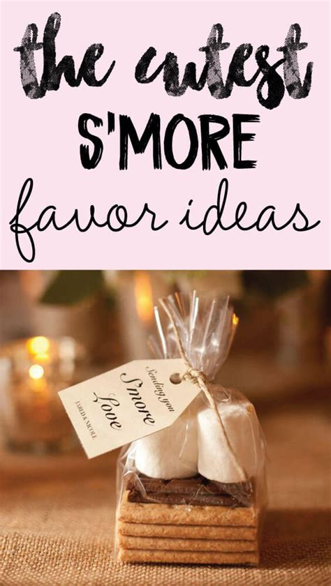 simple takehome gifts to make for guests at chridtmas dinner 5 easy s mores favor ideas that your guests will