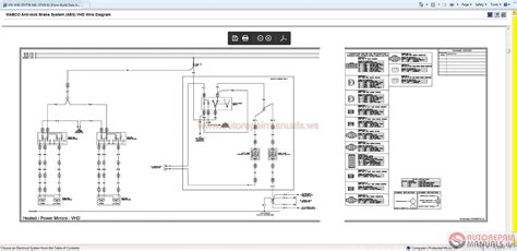 volvo truck repair volvo vhd wiring diagram wiring diagram schemes