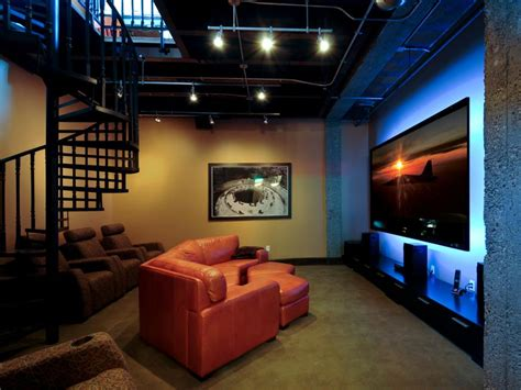 Lounge Worthy Basements Hgtv Hgtv Basement Ideas