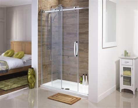 Small Corner Bath With Shower Screen orca led walk in shower panel with frosted glass from