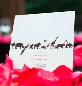 wedding invitation wording zoo wedding invitation wording