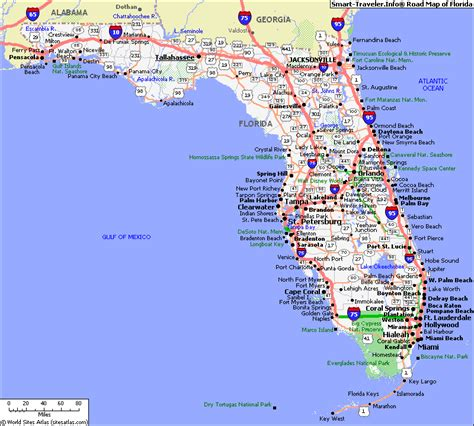 map of flordia map of florida