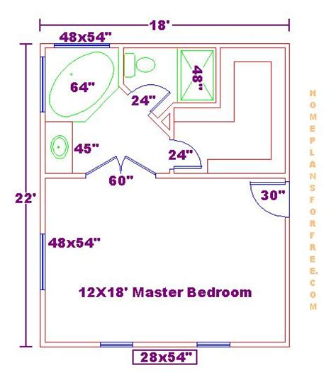 master suite layout the chu s sweet home floor plan at three stages