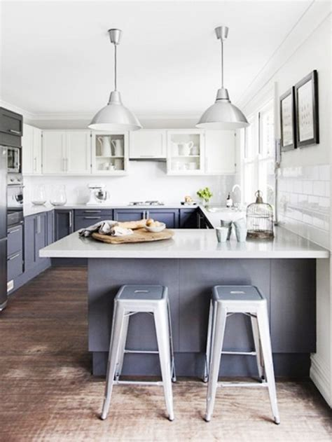 blue gray kitchen cabinets having a moment blue gray kitchen cabinets mydomaine
