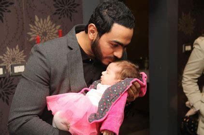 Tamer Hosny and Basma Bosil Celebrate First Child   Arabia
