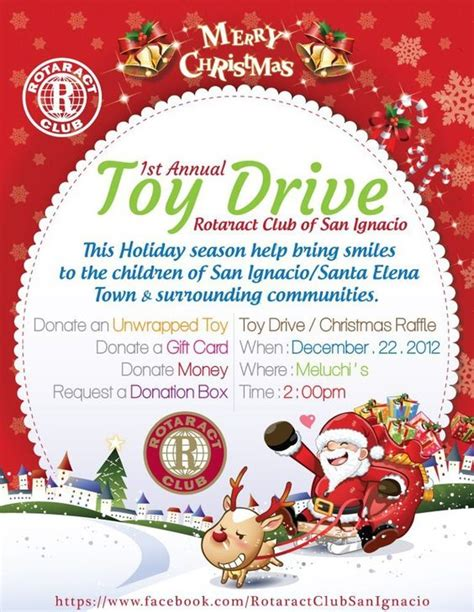 christmas donation request rotaract drive at meluchi s toys and ps