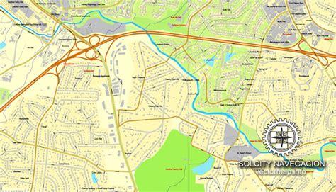 carolina map chapel hill printable map raleigh chapel hill durham carolina