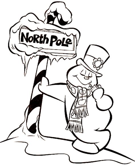 Frosty The Snowman Coloring Pages Colorr Me Frosty Coloring Pages