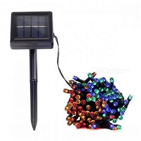 solar power string lights solar l string lights solar power outdoor lights