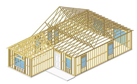 house frame revitcity image gallery wood frame house