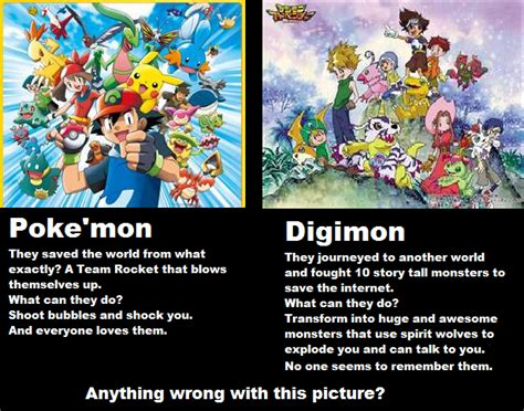 Digimon Memes - digimon vs pokemon meme images pokemon images