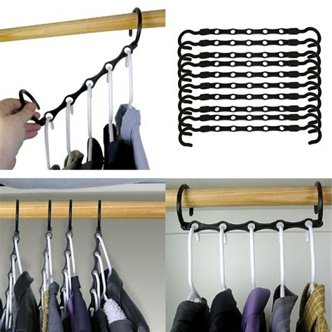 Space Saver Closet Hangers by Space Saver Hangers 10pc Closet Organizing Racks Multiply