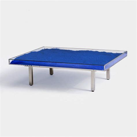 And Table by Yves Klein Blue Coffee Table Coffee Table Design Ideas