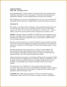 Writing A Literature Review For A Thesis 7 Example Apa Literature Review Executive Resume Template