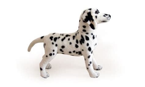 stuffed dalmatian puppy viahart 18 inch dalmatian stuffed animal plush donnie the dalmat groupon