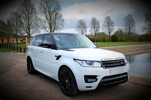 Range Rover White Range Rover Sport Leicester Limousine Hire