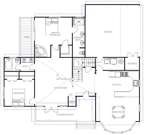 how to make a floor plan for a house draw floor plans try free and easily draw floor plans and more