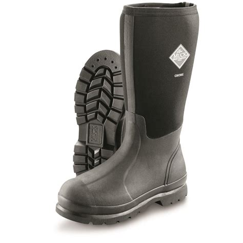 muck work boots muck s chore all conditions high work boots 609866