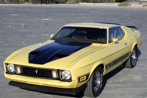1973 Ford Mustang Sportsroof Fastback Mach 1 Burnt Orange For Sale Used Cars For Sale 1973 Ford Mustang Mach 1 Fastback 139038