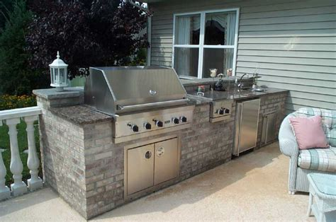 outdoor kitchens the patio company