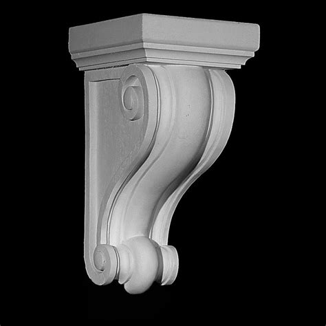 Resin Corbels cb 107 series traditional profile resin corbel 714 573 1700 pearlworksinc