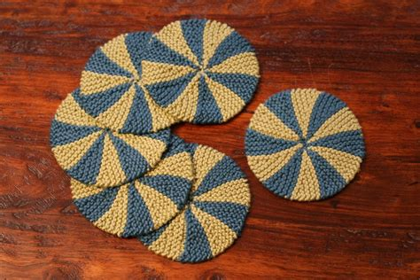 knitted coasters free patterns shaker dishcloths coasters pattern knitting patterns