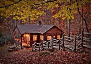 Cabin In Tbe Woods by Lovely Cabin In The Woods Landscapes Buildings