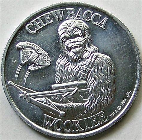 Coin Starwars potf coin chewbacca wars coin collecting coin collecting and chewbacca