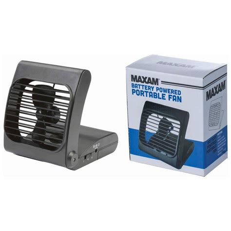 portable fan battery powered maxam battery powered portable fan with 2 speed power