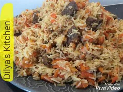 uzbek cuisine youtube uzbek cuisine easy uzbek pilaf plov o zbek palovi